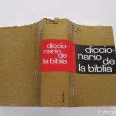 Libros de segunda mano: H. HAAG, A. VAN DEN BORN, S. DE AUSEJO. DICCIONARIO DE LA BIBLIA. RM82136. . Lote 95142579