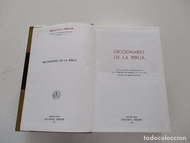 Libros de segunda mano: H. HAAG, A. VAN DEN BORN, S. DE AUSEJO. Diccionario de la Biblia. RM82136. - Foto 2 - 95142579