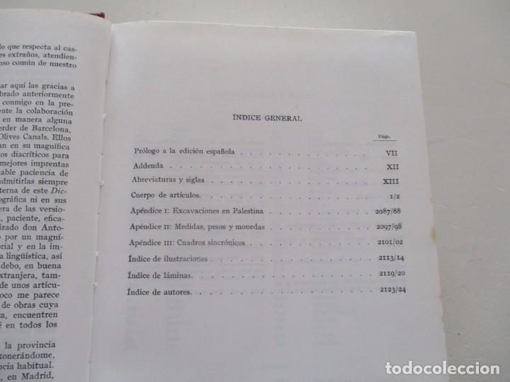 Libros de segunda mano: H. HAAG, A. VAN DEN BORN, S. DE AUSEJO. Diccionario de la Biblia. RM82136. - Foto 3 - 95142579