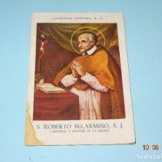 Libros de segunda mano: SANTOS Y BEATOS DE LA COMPAÑÍA DE JESÚS - S. ROBERTO BELARMINO S. J. DE 1943 CELESTINO TESTORE S. J.. Lote 95301219