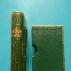 Libros de segunda mano: MINI LIBRO IMITACION DE CRISTO. TOMAS DE KEMPIS. EDITORIAL REGINA. Lote 95886663