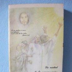 Libros de segunda mano: LA VERDAD DE LA REENCARNACIÓN A LA LUZ DEL EVANGELIO (TOMÁS J. VALENCIÁ) CRISTIANISMO RELIGIÓN EN EL. Lote 95942479