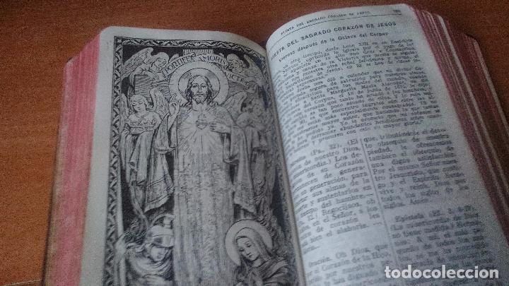 Libros de segunda mano: MISAL COMPLETO PARA LOS FIELES - 1946 - BUEN ESTADO - ENCUADERNACIÓN PIEL ..... ZXY - Foto 6 - 96046307