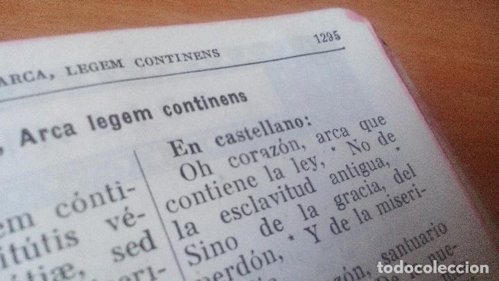 Libros de segunda mano: MISAL COMPLETO PARA LOS FIELES - 1946 - BUEN ESTADO - ENCUADERNACIÓN PIEL ..... ZXY - Foto 7 - 96046307