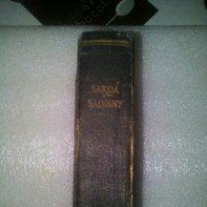Libros de segunda mano: LIBRO MES DE MARZO (SARDA Y SALVANY). Lote 96411324