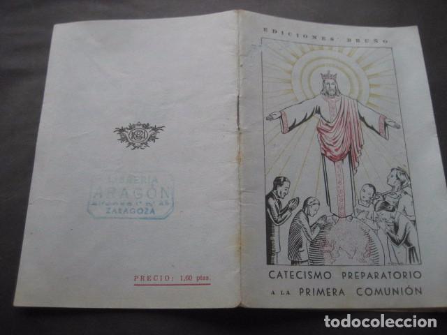 Libros de segunda mano: CATECISMO PREPARATORIO A LA PRIMERA COMUNION. ED. BRUÑO 1949 - Foto 2 - 96895963