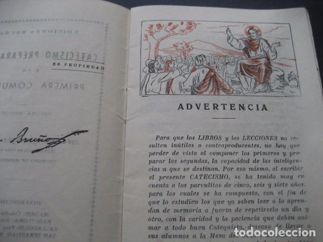Libros de segunda mano: CATECISMO PREPARATORIO A LA PRIMERA COMUNION. ED. BRUÑO 1949 - Foto 4 - 96895963