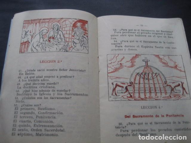 Libros de segunda mano: CATECISMO PREPARATORIO A LA PRIMERA COMUNION. ED. BRUÑO 1949 - Foto 9 - 96895963