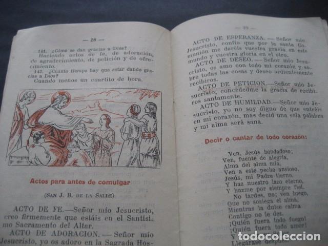 Libros de segunda mano: CATECISMO PREPARATORIO A LA PRIMERA COMUNION. ED. BRUÑO 1949 - Foto 10 - 96895963