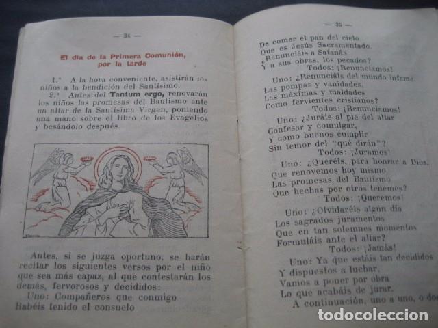Libros de segunda mano: CATECISMO PREPARATORIO A LA PRIMERA COMUNION. ED. BRUÑO 1949 - Foto 11 - 96895963