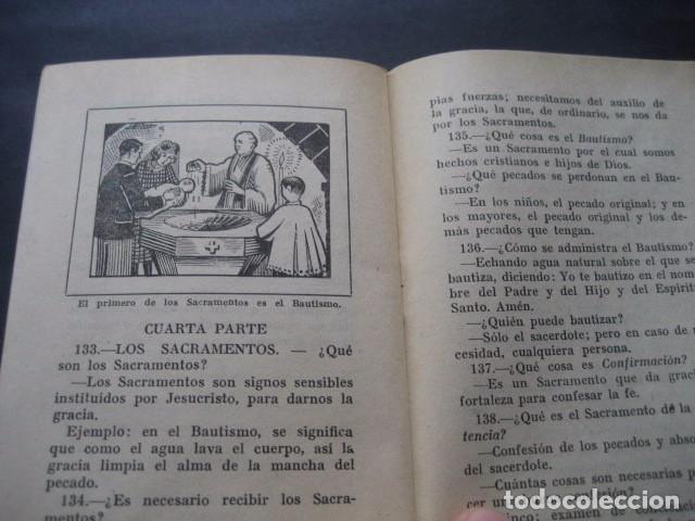 Libros de segunda mano: CATECISMO DOCTRINA CRISTIANA. SEGUNDO GRADO 1950. COMISION CATEQUISTICA ZARAGOZA - Foto 4 - 96896387