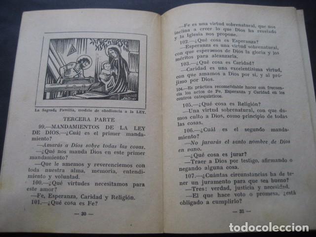 Libros de segunda mano: CATECISMO DOCTRINA CRISTIANA. SEGUNDO GRADO 1950. COMISION CATEQUISTICA ZARAGOZA - Foto 5 - 96896387