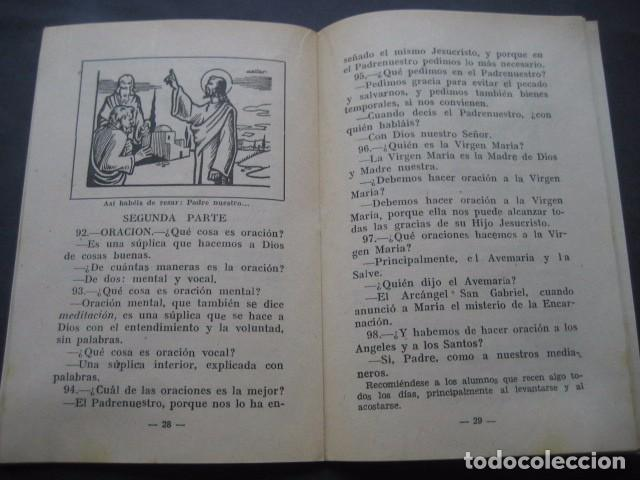 Libros de segunda mano: CATECISMO DOCTRINA CRISTIANA. SEGUNDO GRADO 1950. COMISION CATEQUISTICA ZARAGOZA - Foto 6 - 96896387