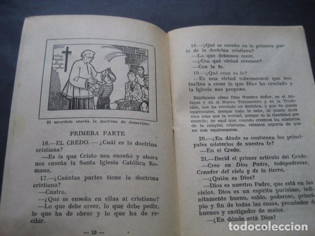 Libros de segunda mano: CATECISMO DOCTRINA CRISTIANA. SEGUNDO GRADO 1950. COMISION CATEQUISTICA ZARAGOZA - Foto 7 - 96896387