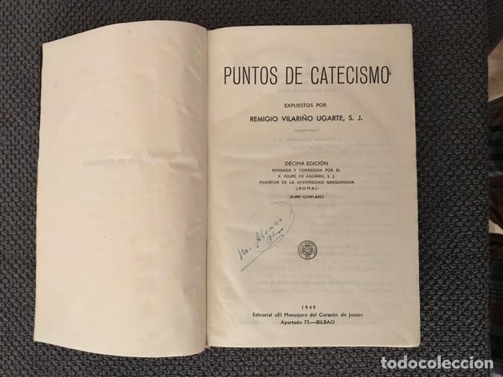 Libros de segunda mano: PUNTOS DE CATECISMO,expuestos por Remigio Vilariño Ugarte, S.J. (a.1949) - Foto 2 - 96979488