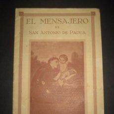 Libros de segunda mano: REVISTA EL MENSAJERO DE SAN ANTONIO DE PADUA, SEPTIEMBRE 1944. PADRES CAPUCHINOS ZARAGOZA. Lote 97005563