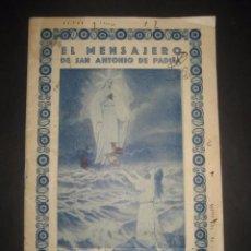 Libros de segunda mano: REVISTA EL MENSAJERO DE SAN ANTONIO DE PADUA, DICIEMBRE 1944. PADRES CAPUCHINOS ZARAGOZA. Lote 97005599
