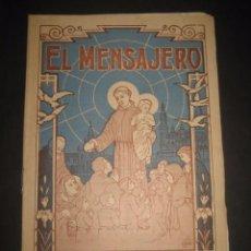 Libros de segunda mano: REVISTA EL MENSAJERO DE SAN ANTONIO DE PADUA, ENERO 1946. PADRES CAPUCHINOS ZARAGOZA. Lote 97005683