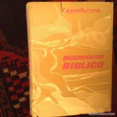 Libros de segunda mano: DICCIONARIO BÍBLICO. FRANCESCO SPADAFORA. Lote 97262871