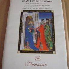 Livros em segunda mão: LIBRO ESTUDIO DE LAS GRANDES HORAS DEL DUQUE DE BERRY (EN ESPAÑOL). Lote 97279067