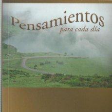 Libros de segunda mano: PENSAMIENTOS PARA CADA DIA, MADRE MARIA SEQUER GAYA Y MADRE AMALIA MARTIN DE LA ESCALERA. Lote 97467439