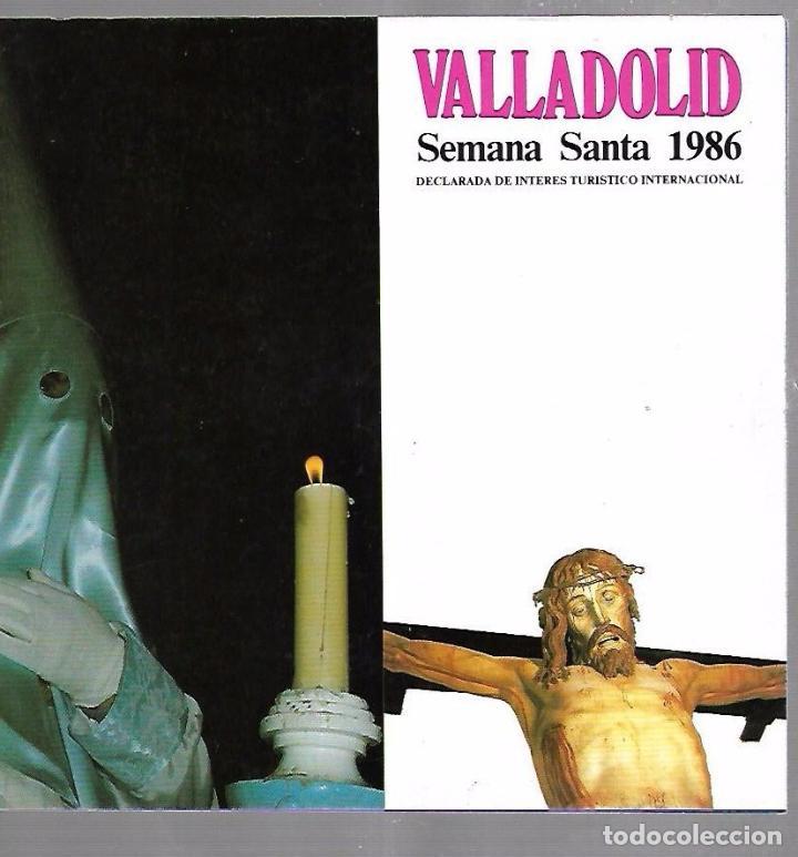 VALLADOLID. SEMANA SANTA 1986. CAJA RURAL PROVINCIAL (Libros de Segunda Mano - Religión)