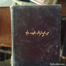 Libros de segunda mano: OBRAS COMPLETAS . SANTA TERESA. 1.948. AGUILAR. Lote 97772732