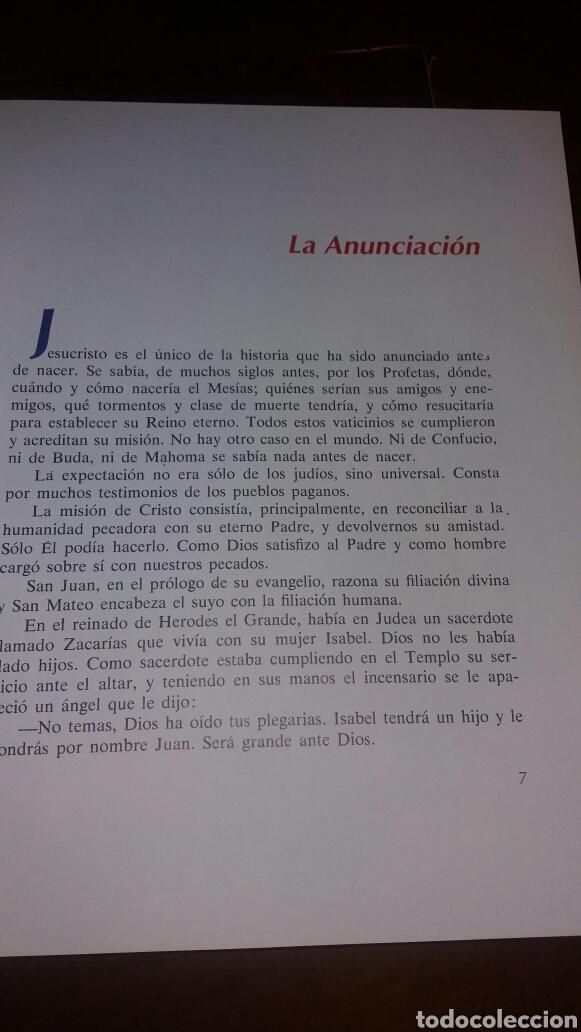 Libros de segunda mano: BIBLIA JUVENIL DOS TOMOS ENCUADERNADOS EN PIEL - Foto 7 - 97984338