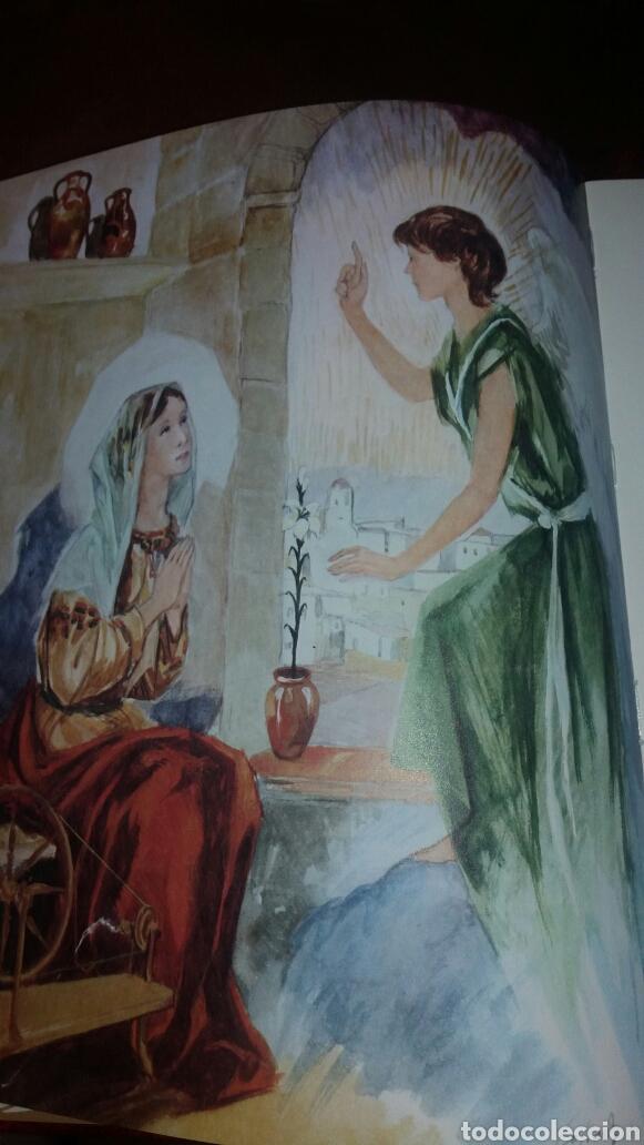 Libros de segunda mano: BIBLIA JUVENIL DOS TOMOS ENCUADERNADOS EN PIEL - Foto 8 - 97984338