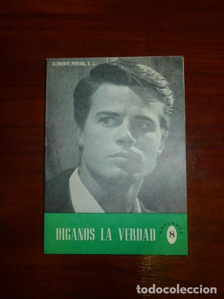 ¡DÍGANOS LA VERDAD! : (ACLARACIONES AL ADOLESCENTE) / POR CLEMENTE PEREIRA, S.J. (Libros de Segunda Mano - Religión)