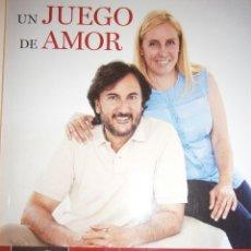 Libros de segunda mano: UN JUEGO DE AMOR JOSE MARIA ZAVALA PALOMA FERNANDEZ 2014 PADRE PIO. Lote 98893239