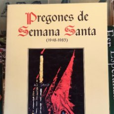 Libros de segunda mano: PREGONES DE LA SEMANA SANTA ( 1948-1983 ). CAJA DE AHORROS POPULAR DE VALLADOLID. Lote 99091579