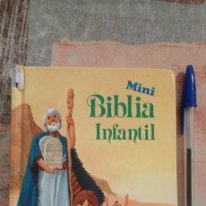 Libros de segunda mano: MINI BIBLIA INFANTIL - EDITORIAL ALFREDO ORTELLS, S.L.. Lote 99100883