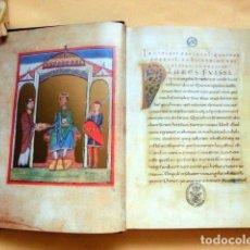 Libros de segunda mano: FACSÍMIL ÍNTEGRO DEL EVANGELIARIO DE REICHENAU (S. XII), ¡ESTUDIO EN CASTELLANO!. Lote 107644894