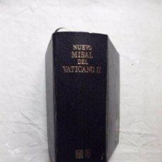Libros de segunda mano: NUEVO MISAL DEL VATICANO II. Lote 100246319