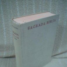 Libros de segunda mano: SAGRADA BIBLIA - BAC. Lote 100594463