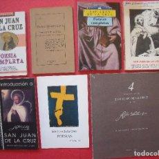 Libros de segunda mano: SAN JUAN DE LA CRUZ.-LIBROS.-RELIGION.-POESIAS COMPLETAS.-PATER SPIRITUALIUM.-LUIS DIAZ MARTINEZ.. Lote 101100571