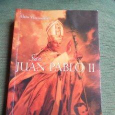 Libros de segunda mano: LIBRO SAN JUAN PABLO II. Lote 101146847