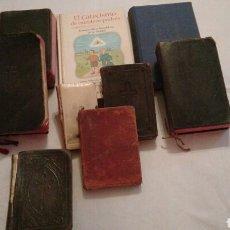 Libros de segunda mano: LOTE DE 9 LIBROS RELIGIOSOS, ANTIGUOS, UNO LO REGALO. Lote 101246852