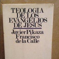 Libros de segunda mano: TEOLOGIA DE LOS EVANGELIOS DE JESUS (JAVIER PIKAZA, FRANCISCO DE LA CALLE) EDICIONES SIGUEME. Lote 101794363
