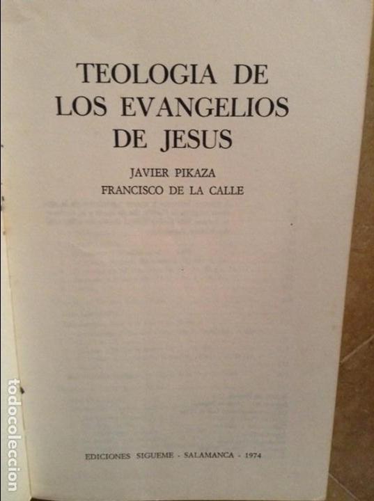 Teologia de los evangelios de jesus (javier pik - Vendido en Venta Directa  - 101794363