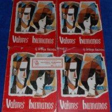 Libros de segunda mano: VALORES HUMANOS - A.ORTEGA GAISAN - EDITORIAL EROS (1966). Lote 114648346