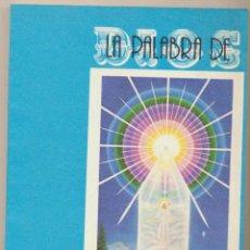 Libros de segunda mano: LA PALABRA DE DIOS. SAINT GERMAIN. ECOLOGIC EDITORA - ARGENTINA 1987. SIN USAR.... Lote 102433547