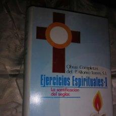 Libros de segunda mano: OBRAS COMPLETAS DEL P. A. TORRES (VOL 5): EJERCICIOS ESPIRITUALES, 1. BAC, 1969.. Lote 102469087