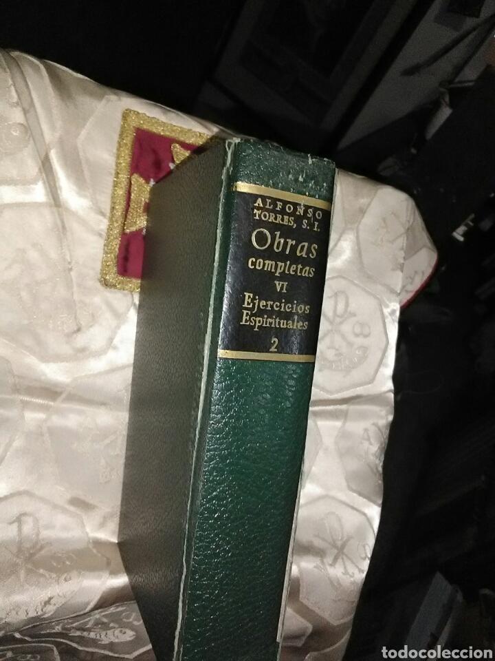 OBRAS COMPLETAS DEL P. A. TORRES (VOL 6): EJERCICIOS ESPIRITUALES, 2. BAC, 1970. (Libros de Segunda Mano - Religión)