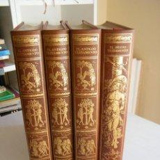 Libros de segunda mano: FACSÍMIL DEL ANTIGUO Y NUEVO TESTAMENTO (4 TOMOS) - EDICIONES ANTIGUAS - BARCELONA (1976). Lote 102491915