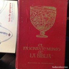 Libros de segunda mano: EL FASCINANTE MUNDO,DE LA,BIBLIA. Lote 102560883
