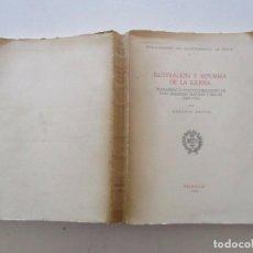 Libros de segunda mano: ANTONIO MESTRE. ILUSTRACIÓN Y REFORMA DE LA IGLESIA. RM84322. . Lote 102667143