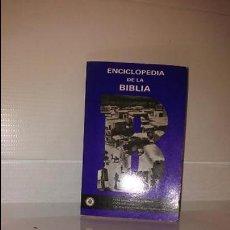 Libros de segunda mano: ENCICLOPEDIA DE LA BIBLIA. Lote 103194655