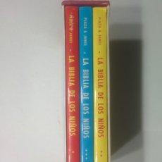 Libros de segunda mano: LA BIBLIA DE LOS NIÑOS ILUSTRADA POR PIET WORN 1984 PLAZA & JANÉS 7ª EDICIÓN. Lote 103510995